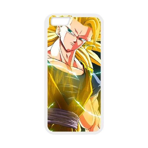 Dragon Ball Z 018 coque iPhone 6 4.7 Inch Housse Blanc téléphone portable couverture de cas coque EOKXLLNCD19993