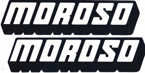 Moroso Racing Decals Stickers 7 Inches Long Size Set of (Moroso Racing)