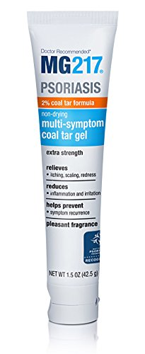 MG217 Psoriasis Multi-Symptom 2% Coal Tar Gel, 1.5 Ounce - - Ointment Coal Tar