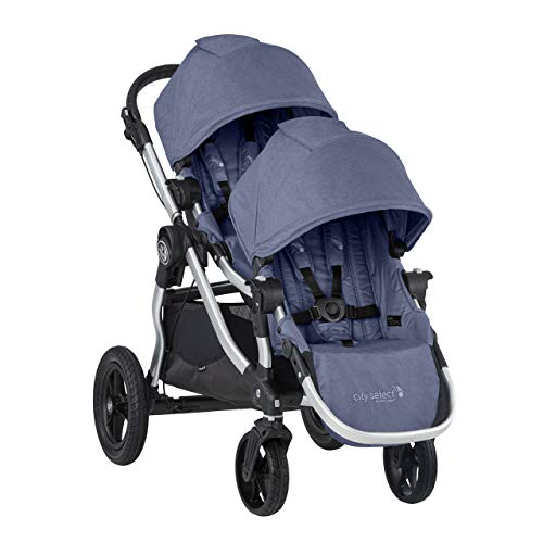 2019 Baby Jogger City Select Double Stroller (Moonlight ...