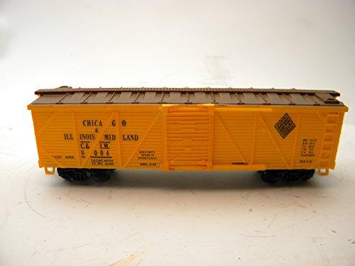 Life-Like 8417 Chicago & Illinois Midland C&IM 40 Foot Wood Box Car HO Gauge