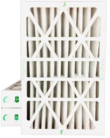 10x20x1 MERV 10 Box of 6 Actual Size: 9-1//2 x 19-1//2 x 7//8 Pleated Air Filters By Glasfloss FPR 5-6