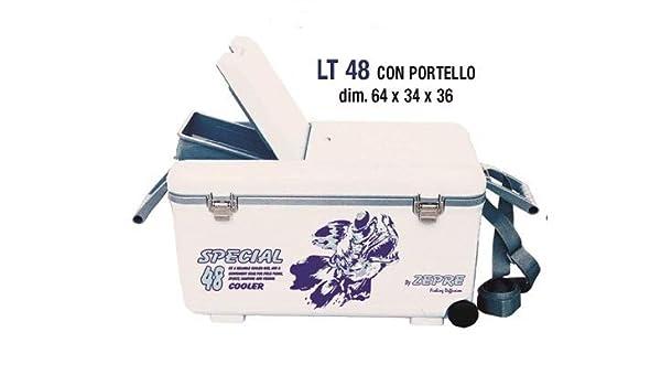 Zepre - Nevera de 48 litros con Ruedas y Puerta. Dimensiones: 64 x ...