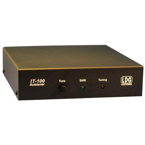 LDG Electronics IT-100 Automatic Antenna Tuner 1 8-54 MHz 1-125 Watts, 2  Year Warranty