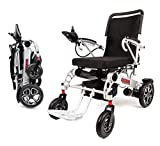 Porto Mobility Ranger X6 Portable Lightweight Premium Power Wheelchair Aerospace Aluminum Crafted Design Foldable Lightweight Dual Battery Dual Motor Airplane Ready Folding Electric Wheelchair