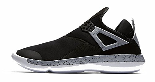 Nike Air Jordan Fly 89 Mens Trainers 940267 Sneakers Shoes (12 M Us, Black University Red Wolf Grey 004)