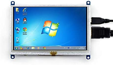 800/×480 Supports Various Systems ALLPARTZ Waveshare 5inch HDMI LCD B