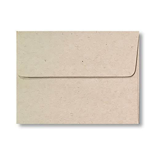 Top Kraft Beach 70lb A7 Boxed Envelopes for 5 x 7 Weddings Announcements Invitations Enclosures from The Envelope Gallery (100 Boxed Envelopes) free shipping