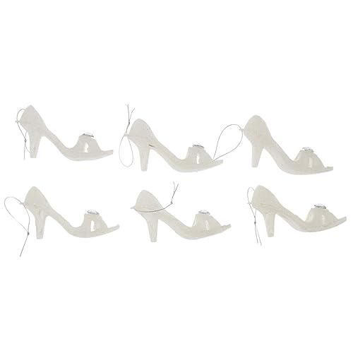 Old World Christmas Baby Shoe White Glass Owc Ornament: Christmas Shoe Ornaments: Amazon.com