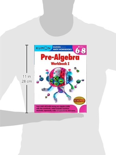 Amazon.com: Kumon Pre-Algebra Workbook I (Kumon Math Workbooks ...