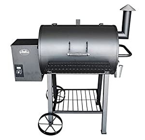 Wood Pellet Grill Smoker Outdoor BBQ Cooker Patio Kitchen from fabulous VSE