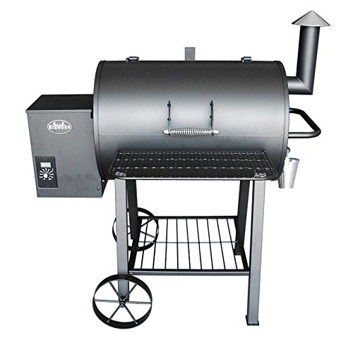 Cheap Wood Pellet Grill Smoker Outdoor BBQ Cooker Patio Kitchen