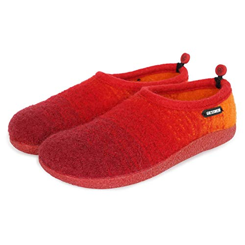 Vahldorf Basso Rosso 362 A Collo kirsche Giesswein Donna Pantofole Ff6awqFd