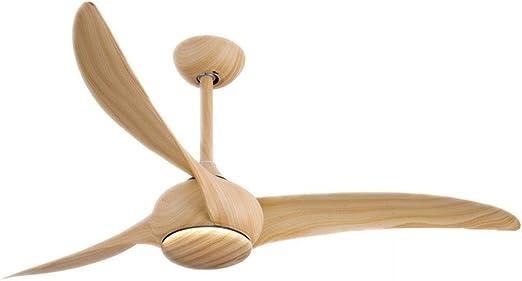 WPCBAA Ventilador de techo retro americano sin luz Ventilador de ...