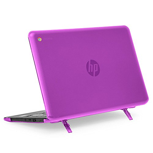mCover Hard Shell Case for 11.6 HP Chromebook 11 G6 EE laptops (NOT Compatible with pre-2018 HP C11 G4EE / G5EE) (HP C11 G6EE Purple)