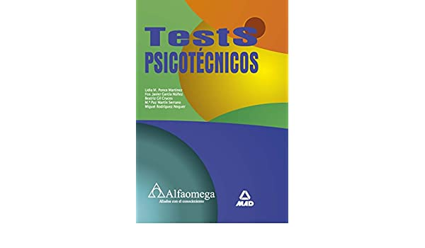 Test Psicotecnicos (Spanish Edition): Lidia M. PONCE MARTINEZ, Alfaomega, MAD: 9789586827423: Amazon.com: Books
