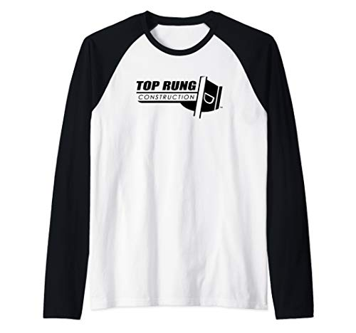 - Top Rung Construction Raglan Baseball Tee