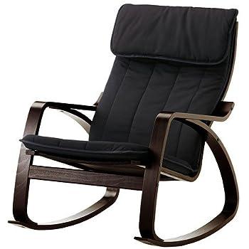 Amazon Com Ikea Poang Rocking Chair Medium Brown With