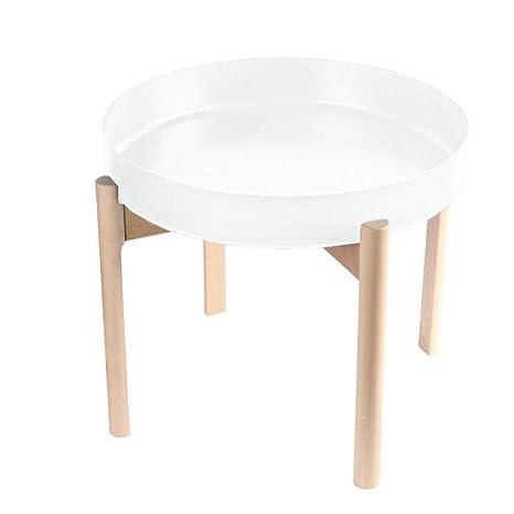 reputable site 24e58 5ab67 Amazon.com: BAOMEI Coffee Table Side Table, Metal Tray Side ...
