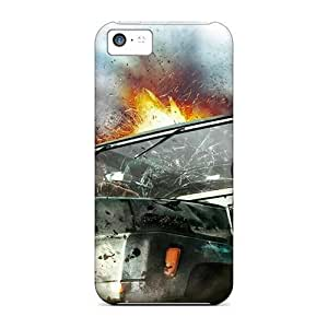 Anti-Scratch Hard Cell-phone Case For Iphone 5c With Support Your Personal Customized High Resolution Strange Magic Skin AlainTanielian