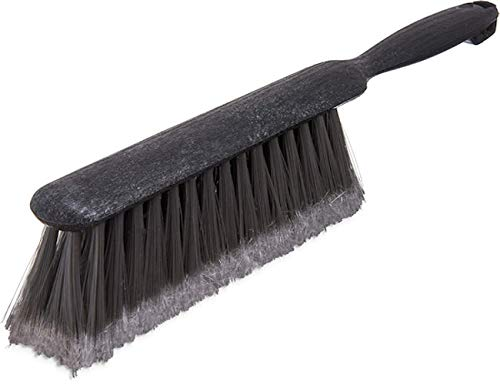 (Carlisle 3621123 Commercial Sawdust/Bench Brush With Flagged Polypropylene Bristles, 8