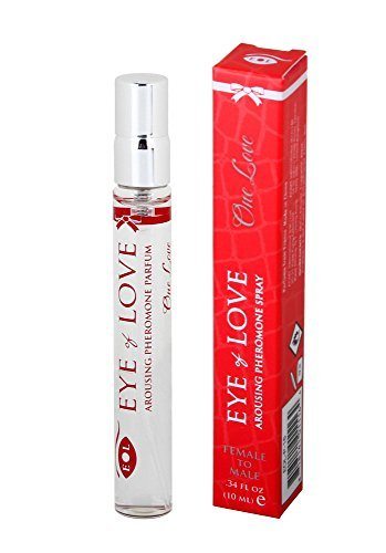 Un amour de Eye of Love phéromone Parfum à vaporiser pour attirer les hommes,.33 Oz liq, 10 Ml par les yeux de l'amour