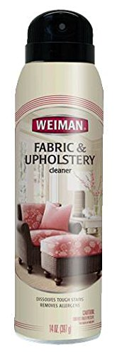 Weiman Furniture Upholstery Cleaner Aerosol
