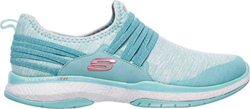 Skechers Damen Burst TR Inside Out Sneaker Türkis