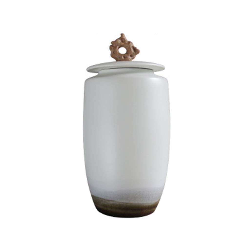 家の居間およびオフィスの理想的なギフトのための陶磁器の花瓶、大口径の創造的な手描きの装飾 B07SBVHDD4