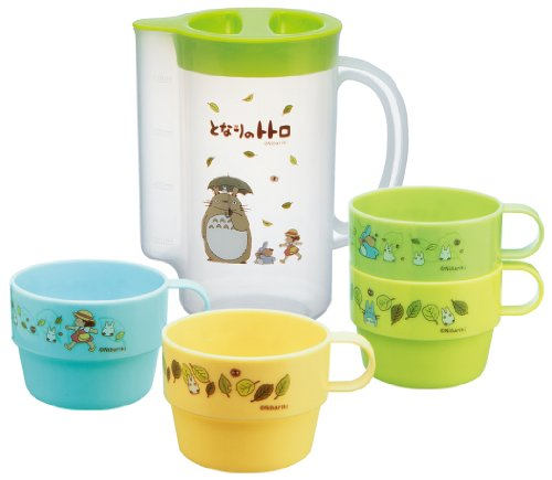 (Totoro Case with Stacking Cups 4p)