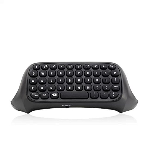 Goliton New Mini Wireless Bluetooth Message Game Keyboard Chatpad for Microsoft Xbox one Controller (Message Gam)