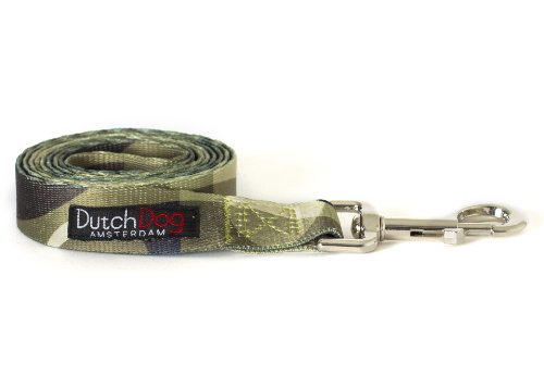Dutch Dog Amsterdam Fashion Dog Leash, 5-Feet, Over the Moon