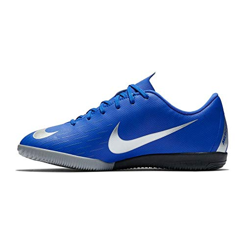 NIKE Youth Soccer Mercurial Vapor 12 Academy GS Indoor Shoes (1.5 M US Little Kid) (12 Indoor Soccer Youth Shoes)