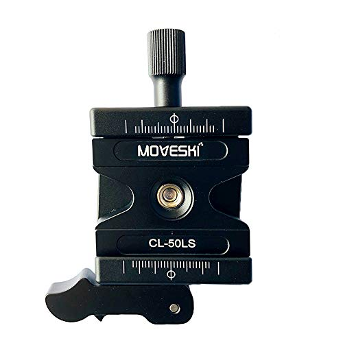 (Moveski 50LS Aluminum Quick Release Clamp and Quick Release Plate 1/4