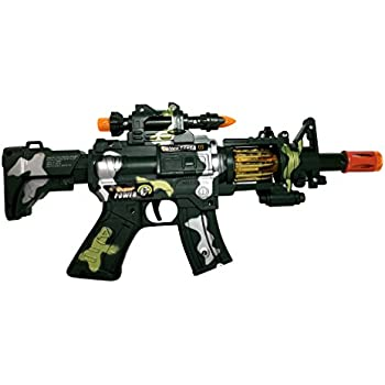 Amazon.com: SY 12 Inch Rapid Fire Machine Gun Toy – with