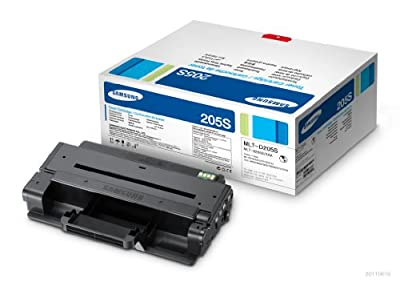Samsung MLT-D205S Toner 2K Yield for Printer Models ML-3312ND, ML-3712ND and ML-3712DW