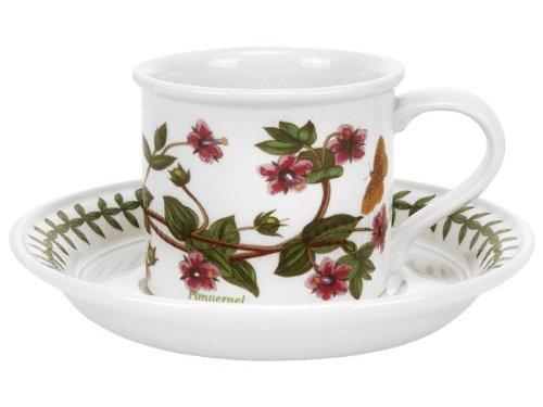 Portmeirion Botanic Garden - Espresso Cup & Saucer - Set of 6 by Botanic Garden