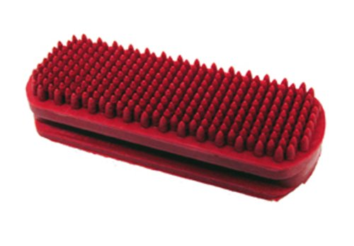 MiracleCoat Premium Rubber Brush, Red