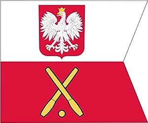 General on Polish Navy ships Flag   landscape flag   0.06m²   0.65sqft for Diplomat-Flags Car Flag Poles