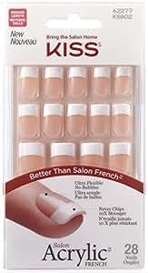 Kiss Products Salon Acrylic French Nail Kit, Sugar Rush, 0.07 Pound