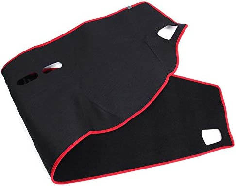 Aramox Car Dashboard Cover Photophobism Mat Carpet Pad Fit For Land Rover Range Rover Sport 06-09 2013