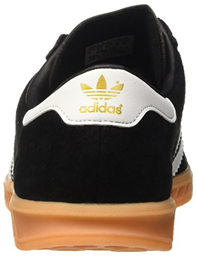 best sneakers 2b23e 9a822 ... adidas Herren Hamburg Low-Top Schwarz (Core BlackFtwr WhiteGum) ...