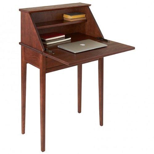 Wood Secretary (Manchester Wood Shaker Secretary Desk - Chestnut)