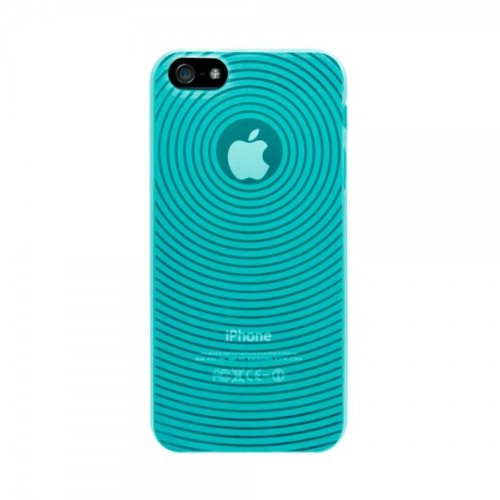 Katinkas Soft Case Circle für Apple iPhone 5 blau