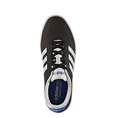 adidas Unisex-Kinder Vlcourt K Turnschuhe, Schwarz (Negbas/Ftwbla/Azul), 36 EU