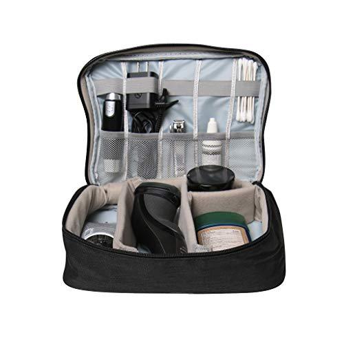 Oacis Life Electronics Organizer Waterproof Cord Case | [2019 Updated] Tech Gear Travel Handbag | Lightweight and Durable Gadget Storage Carrying Case [Black] (Best Travel Tech 2019)