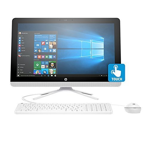 2017 HP All in One Desktop 23.8 Inch Full HD (1920x1080) Touchscreen,7th gen AMD A8-7410 processor,2.2 Ghz,8GB Ram,1TB HDD,DVD Burner,Bluetooth,WiFi/HDMI/Webcam,Win 10, Includes Keyboard and Mouse ()