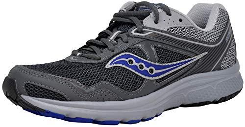 Saucony Blue Shoes - Saucony Men's Cohesion 10 Running Shoe (13 M US, Grey/Blue)