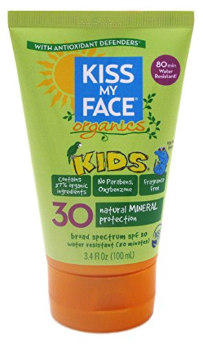Kiss My Face Spf#30 Organics Kids Sunscreen 3.4 Ounce ()