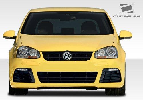 Duraflex ED-ETT-188 R Look Front Bumper Cover - 1 Piece Body Kit - Compatible For Volkswagen Jetta 2005-2010